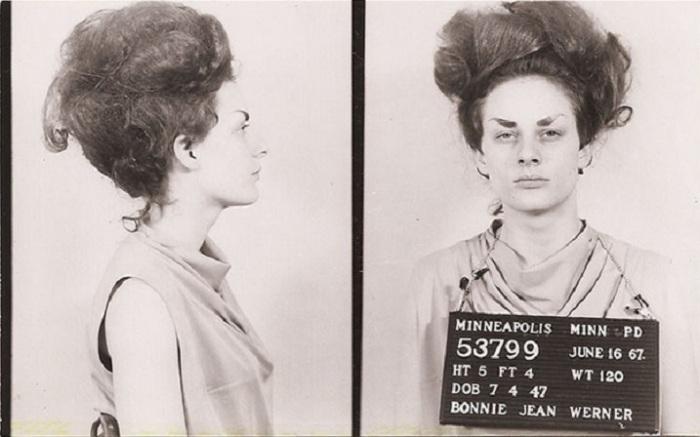 Женщина-преступник, которая окружена таинственностью.