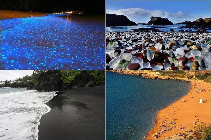 Впечатляющие пляжи мира.