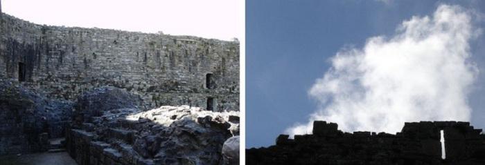 Средневековый замок, один из тех, которые построил король Эдуард I, чтобы усилить позиции Англии в Уэльсе.