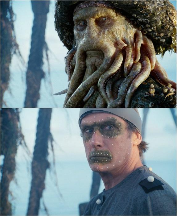 Дэйви Джонс или Дьявол Джон — морской дьявол из фильма «Пираты Карибского моря: Сундук мертвеца».