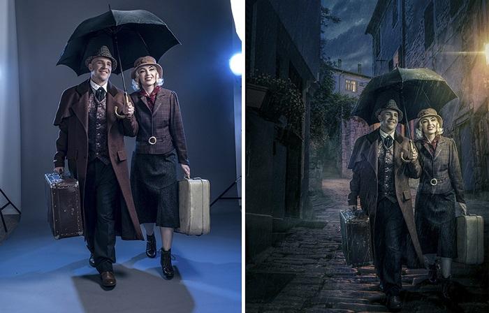 Обычные фотографии, превращенные с помощью графического редактора в прекрасные фантазии.