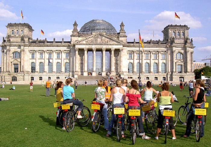 Самый дружелюбный к велосипедистам городов Германии.