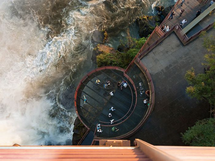 С высоты птичьего полета. Фотограф: Thomas Major.