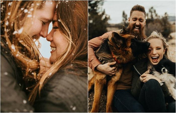 Влюбленные пары на лучших фотографиях конкурса Best of the Best Engagement Photo 2018.