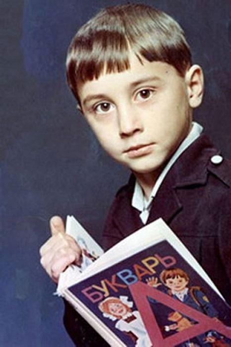 Дима Билан в детстве.