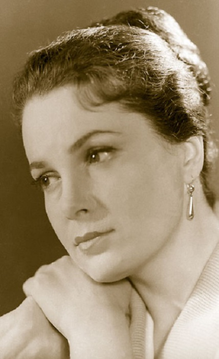 Одна из самых красивых советских актрис.   Фото: galya.ru.