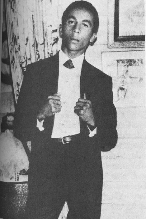 Участник группы The Wailers, 1965 год.