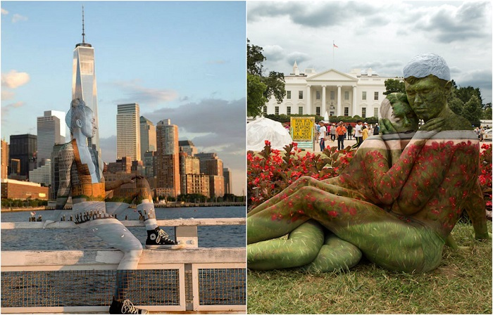 Творения нью-йоркской художницы Трины Мерри.