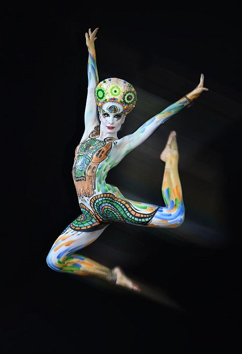 Смелые модели и талантливые художники демонстрировали свое плодотворное сотрудничество на одном из самых творческих фестивалей мира.
