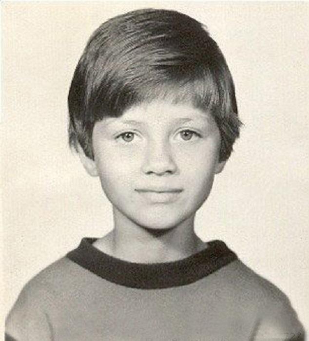 Виктория Боня в детстве.