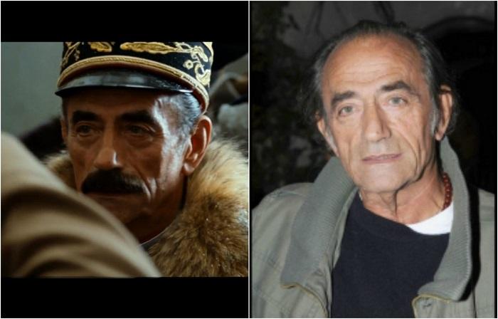 Французский актёр театра и кино, певец и литератор пополнил актерский состав фильма «Адмиралъ», сыграв французского генерала Жаннена.