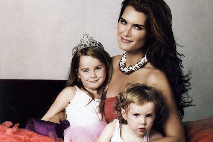 Американская актриса и модель 80-х в 40 лет родила вторую дочку, которую назвали Грир Хэммонд Хэнчи. /Фото: livestory.com.ua