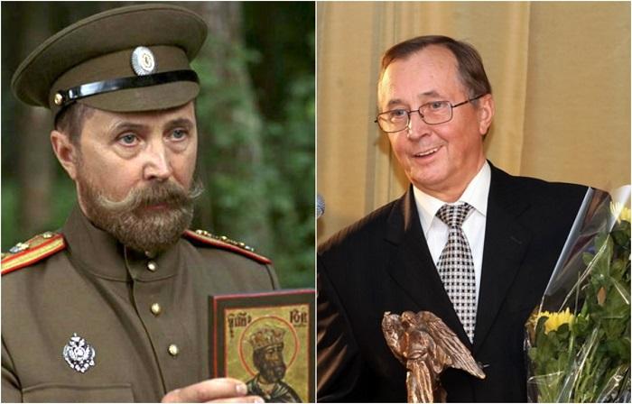 Народный артист Российской Федерации, кинорежиссёр принял участие в фильме, сыграв небольшую роль императора Николая ІІ, который благословляет адмирала Колчака.