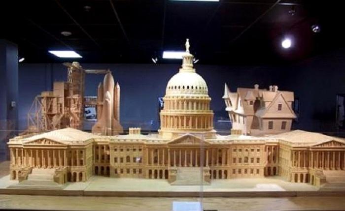 Местопребывание Конгресса США на Капитолийском холме в Вашингтоне, идейно-градостроительный центр округа Колумбия.