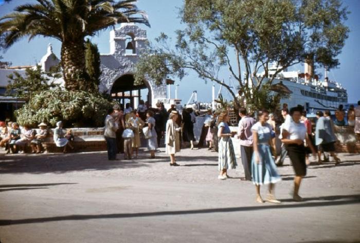 Туристический остров недалеко от Лос-Анджелеса.