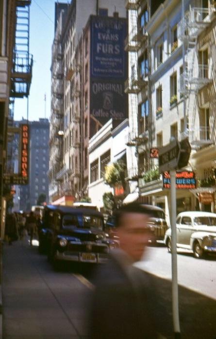 Улица в центре города.
