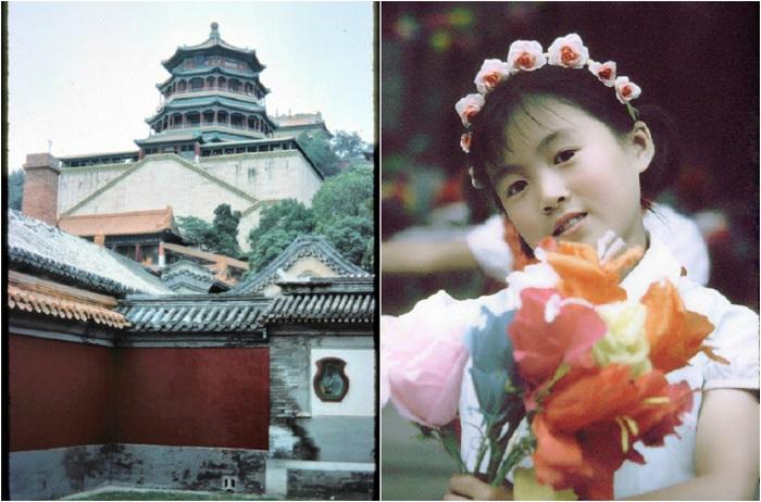 Столица Китая в 1970-е годы.