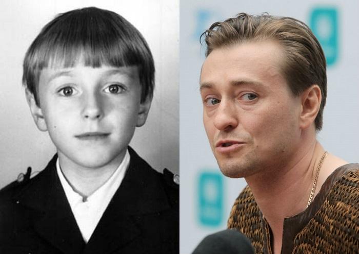 К актерскому поприщу Сергей начал стремиться с раннего детства. Свою первую роль он сыграл на школьной сцене – предстал в образе поэта Есенина, прочно закрепившегося за ним впоследствии.