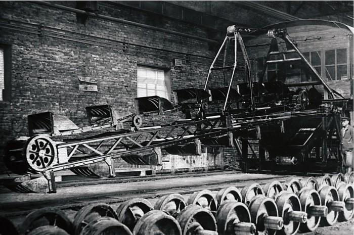 Продукция Усть-Катавского вагоностроительного завода, 1947 год.