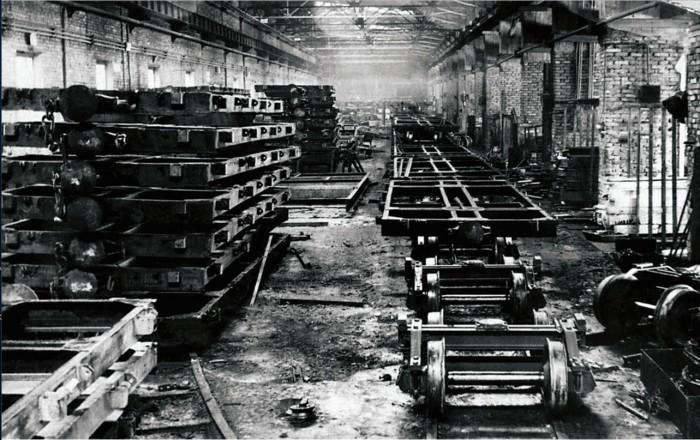 Послевоенное производство Усть-Катава, 1947 год.