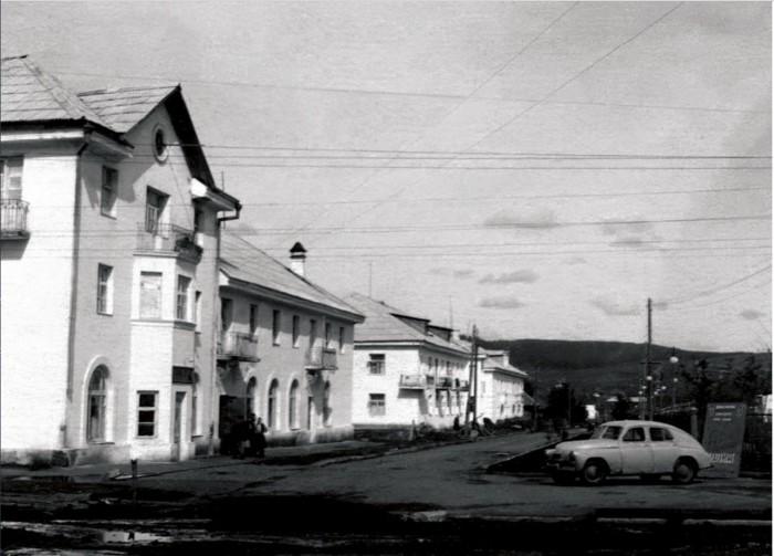 Центр города Усть-Катав.