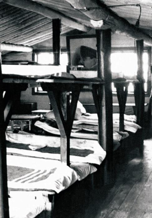 Лагерь трудармейцев, 1947 год.