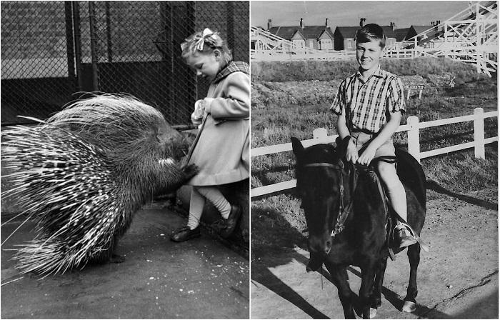 Уличные забавы английских детей 1950-х годов.