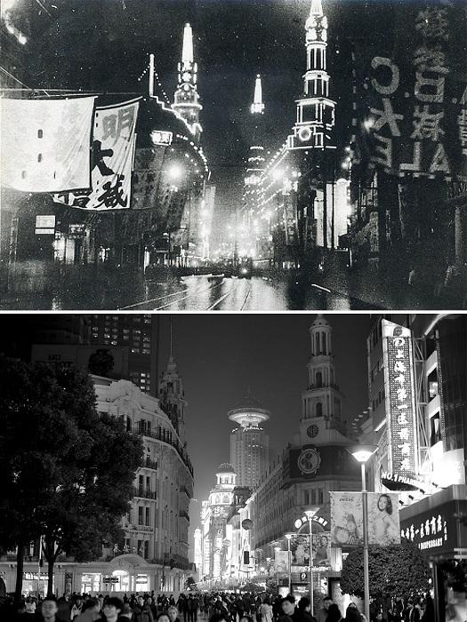 Пешеходная улица с множеством магазинов, рынков и торговых центров, в свое время по улице курсировали мини-поезда.