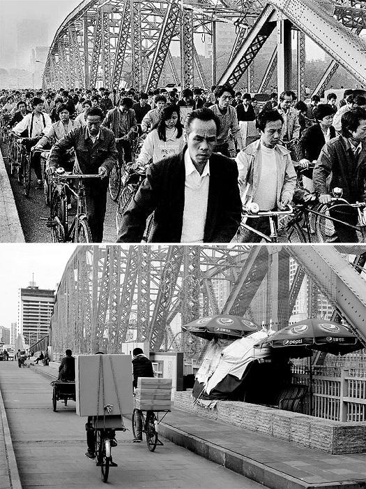 Китай известен своим количеством велосипедов, не потерявших своей актуальности и в наше время.