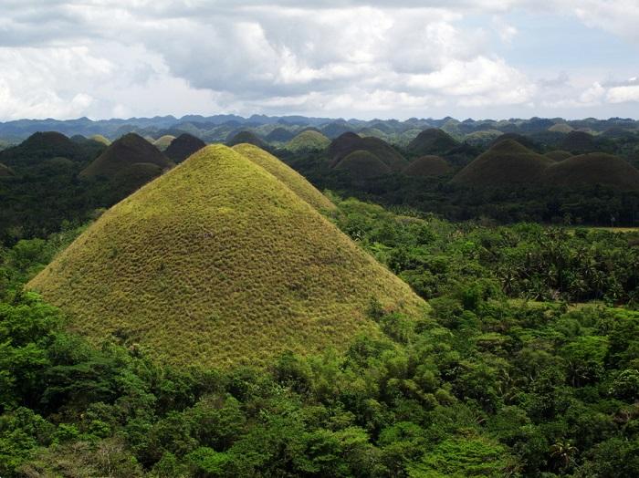 Геологическое образование в филиппинской провинции Бохоль.