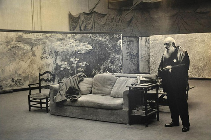 Студия французского художника-импрессиониста.