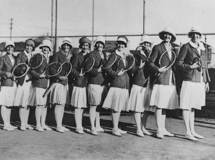 Женская команда готова к соревнованиям.