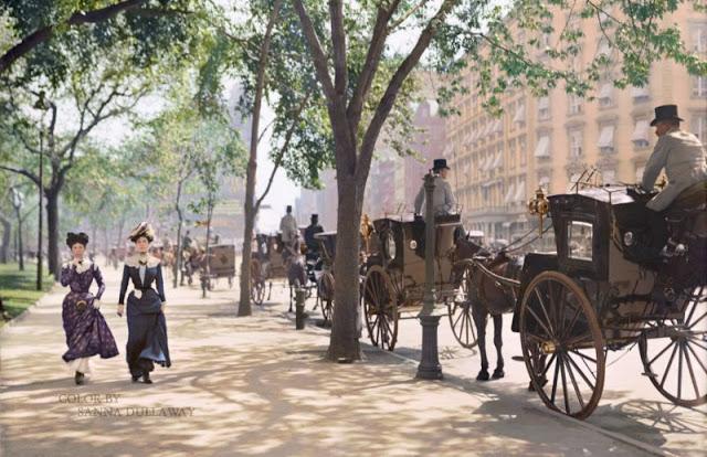 Общественный парк получил название в честь 4-го президента США Джеймса Мэдисона и был открыт 10 мая 1847 года.