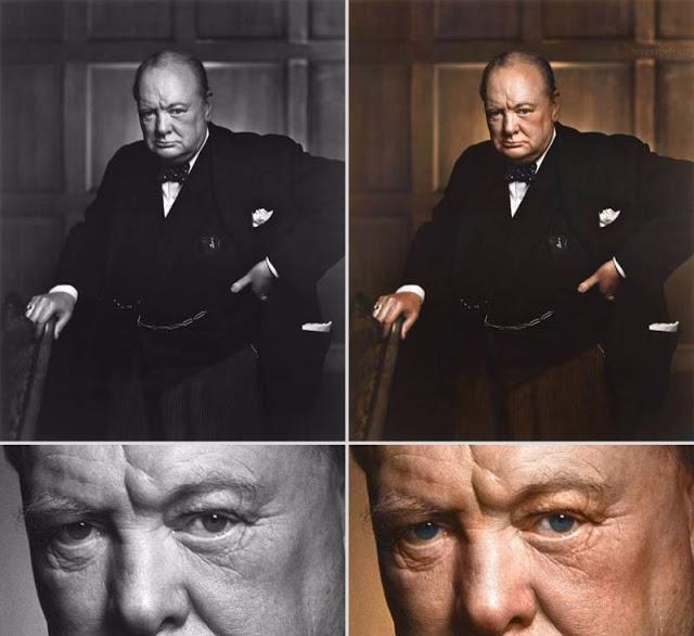Не ограничиваясь государственной и политической деятельностью, Черчилль также был офицером в британской армии, историком, писателем и художником.