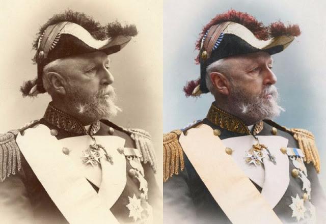 Последний шведский король имел чин гросс-адмирала - высшее военно-морское звание в Австро-Венгрии.