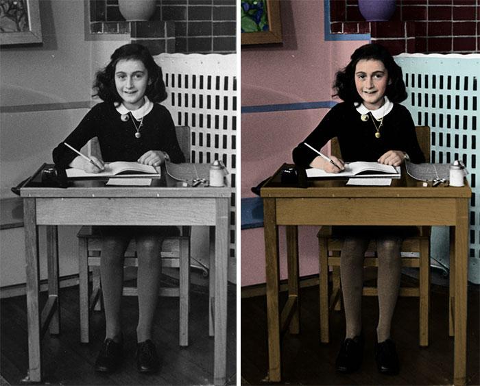 13-летняя еврейская девочка, ставшая знаменитым символом жертв нацистского режима.