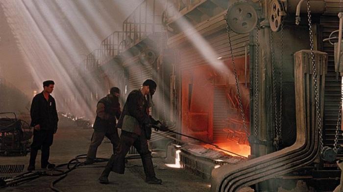 Сумгаитский алюминиевый завод, Азербайджан, 1957 год.