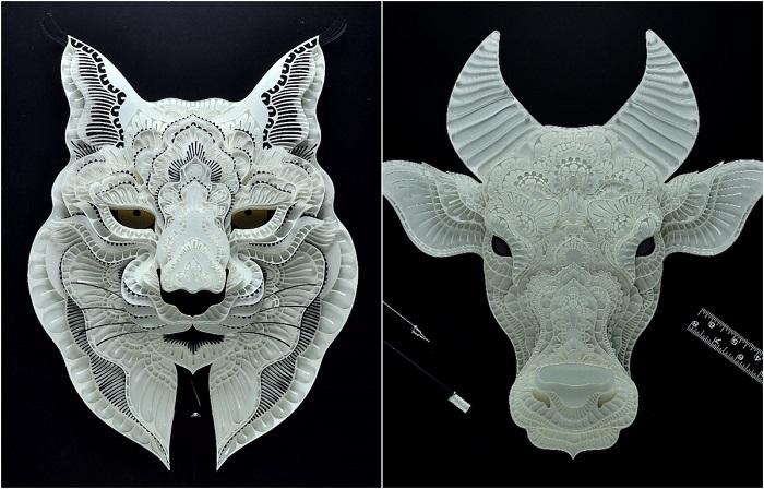 Животные, находящиеся под угрозой исчезновения, в работах многопрофильного художника Патрика Кабрала (Patrick Cabral).