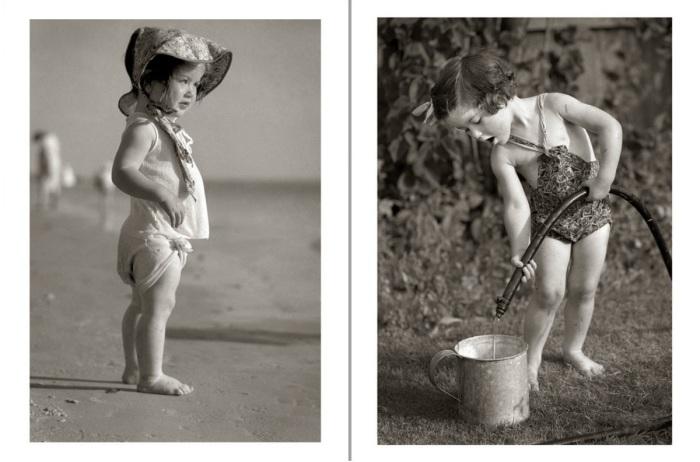 Ретро фотографии детишек.