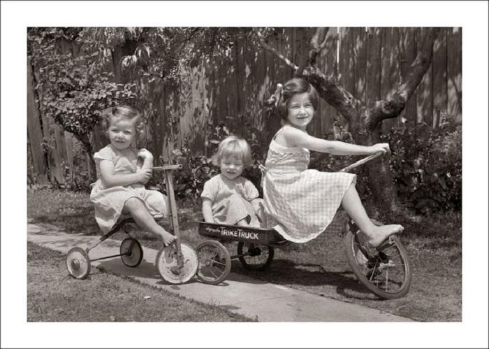 Самый лучший транспорт детства.