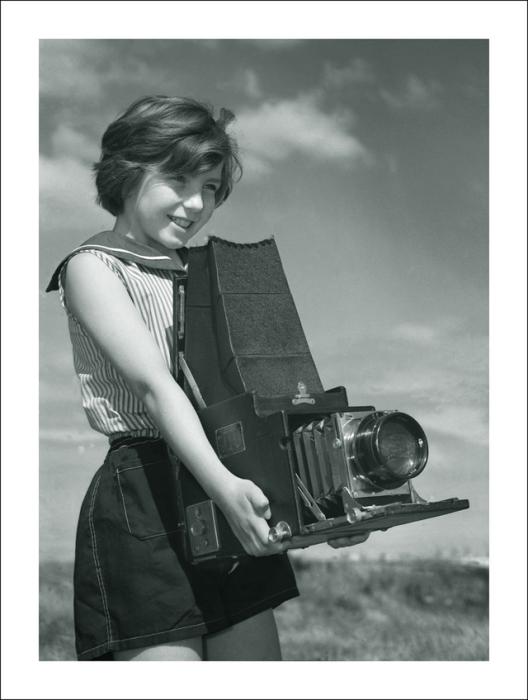 Юный фотограф.