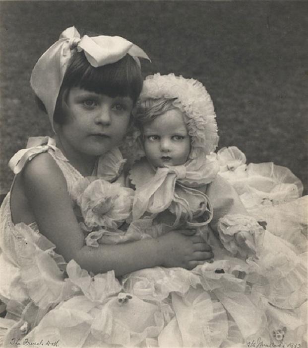 Французская кукла, 1932 год.