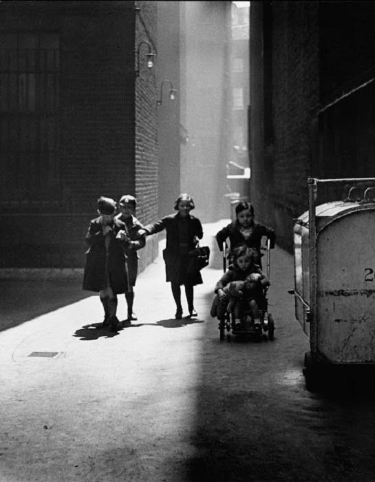 Многоквартирные дома, Лондон, 1936 год.