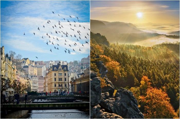 Самые красивые места Европы.