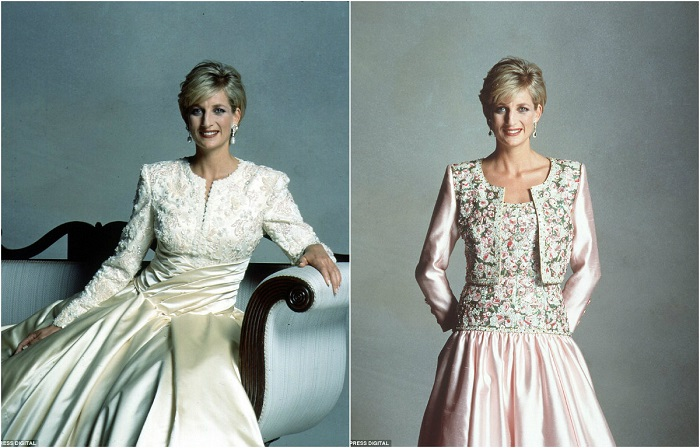 Платья от любимого дизайнера Кэтрин Уолкер.
