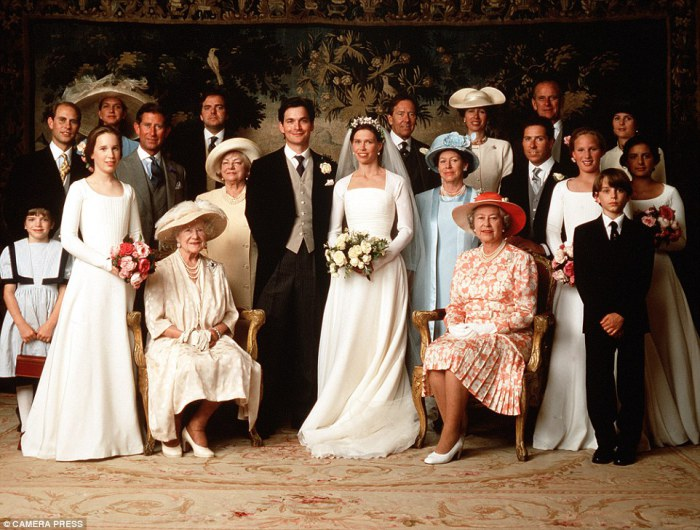 Свадьба Леди Сары Армстронг-Джонс и Даниэля Шатто, 1994 год.