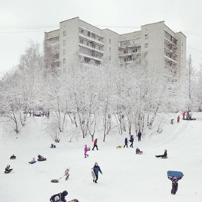Город Кострома, Россия.