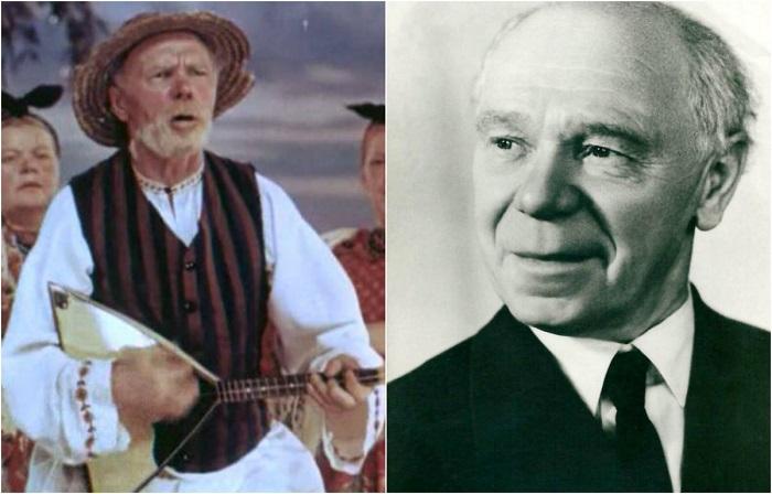 Яркий и многогранный актер в «Кубанских казаках» вжился в образ добродушного Кузьмы Афанасьевича.