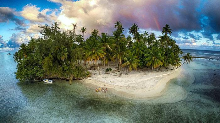Снимок сделан в Тахаа, Французская Полинезия. Фотограф Марама.