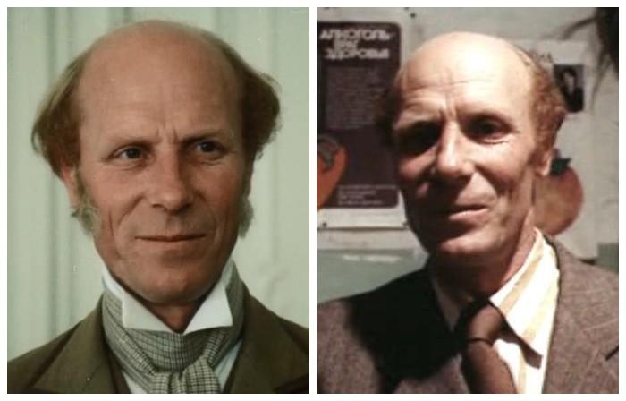 Мастер эпизодических ролей принял участие в съемках фильма в роли верного слуги и камердинера графа Монте-Кристо.